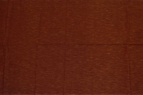 Mahogany Slub Weave Solids with Dark Slub Mangalagiri Fabric