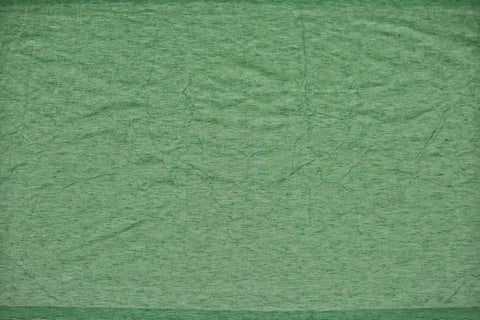 Mint green Slub Weave Solids with Dark Slub Mangalagiri Fabric