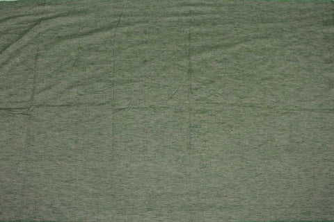 Dark Sea Green Slub Weave Solids with Dark Slub Mangalagiri Fabric