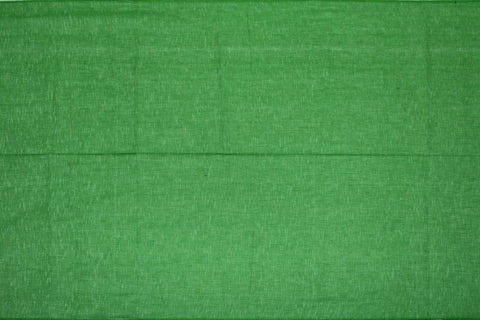 Parrot Green Slub Weave Stripes Slub Zero Finish Negamam Fabric