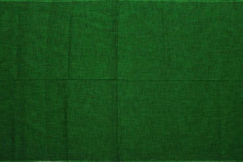 Pine Green Slub Weave Stripes Slub Zero Finish Negamam Fabric