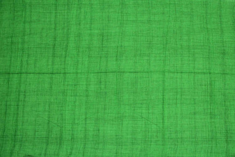 Yellow Green Slub Weave Stripes Slub Zero Finish Negamam Fabric