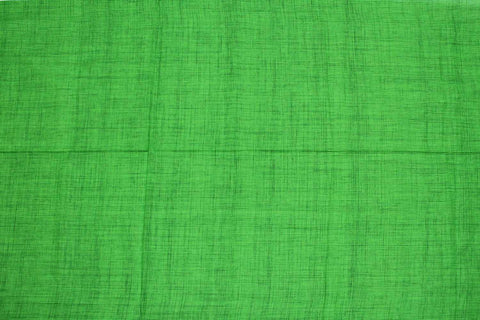 Green Slub Weave Stripes Slub Zero Finish Negamam Fabric