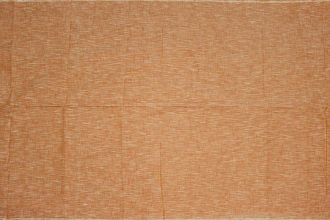 Sandy Brown Slub Weave Stripes Slub Zero Finish Negamam Fabric