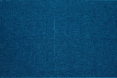 Dark Blue Slub Weave Stripes Slub Zero Finish Negamam Fabric