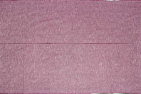 Cadillac Pink Slub Weave Stripes Slub Zero Finish Negamam Fabric