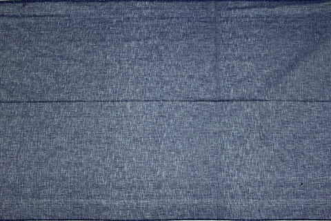 Bluish Grey Slub Weave Stripes Slub Zero Finish Negamam Fabric