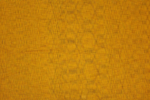 Orange Slub Weave Checks Slub Negamam Fabric