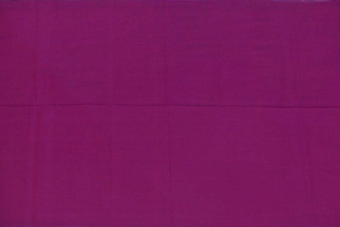 Dark Pink  Plain Weave Plain Colour Kanchi Fabric