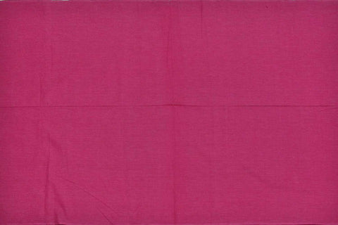 Rogue Pink Plain Weave Plain Colour Kanchi Fabric