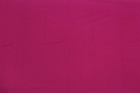 Grape Plain Weave Plain Colour Kanchi Fabric