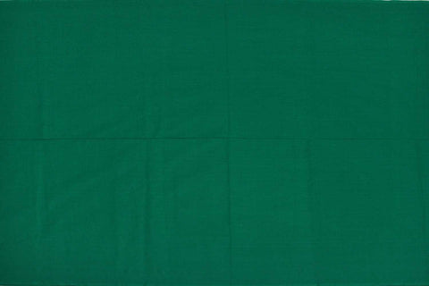 Sea Green Plain Weave Plain Colour Kanchi Fabric