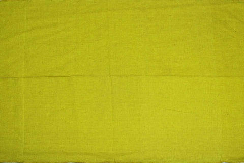 Light Green Plain Weave Plain Colour Kanchi Fabric