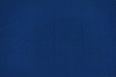 Steel Blue Plain Weave Plain Colour Kanchi Fabric