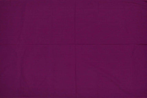 Red Violet Plain Weave Plain Colour Kanchi Fabric