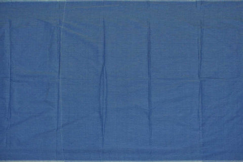 Sky Blue Plain Weave Plain Colour Kanchi Fabric