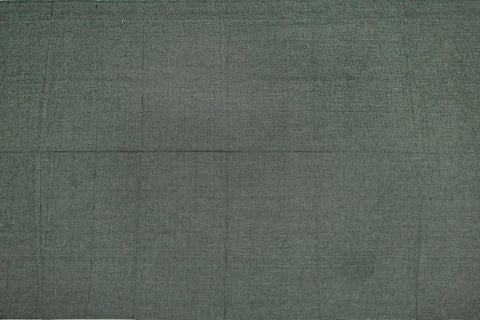 Grey Plain Weave Plain Colour Kanchi Fabric