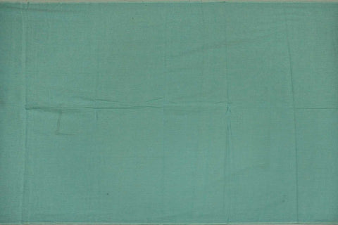 Light Sea Green Plain Weave Plain Colour Kanchi Fabric