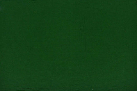 Medium Sea Green Plain Weave Plain Colour Kanchi Fabric