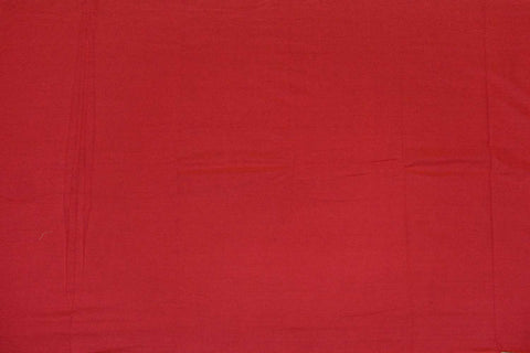 Cinnabar Plain Weave Plain Colour Kanchi Fabric