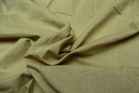 Sand Plain Weave Plain Colour Kanchi Fabric