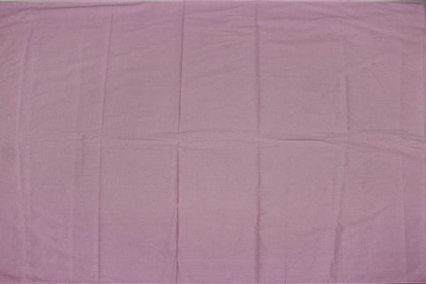 Pastel Pink Plain Weave Plain Colour Kanchi Fabric