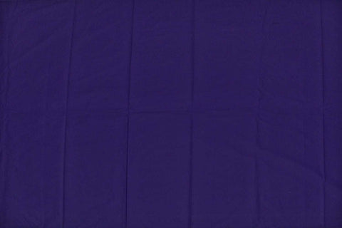 Purple Heart Plain Weave Plain Colour Kanchi Fabric