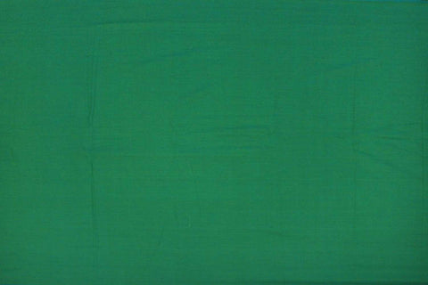 Pine Green Plain Weave Plain Colour Kanchi Fabric