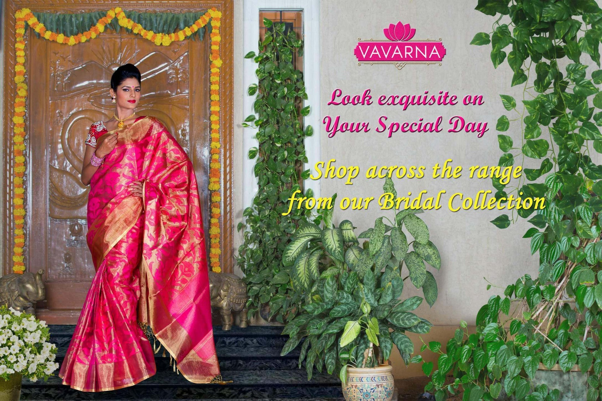 Look exquisite on your special day