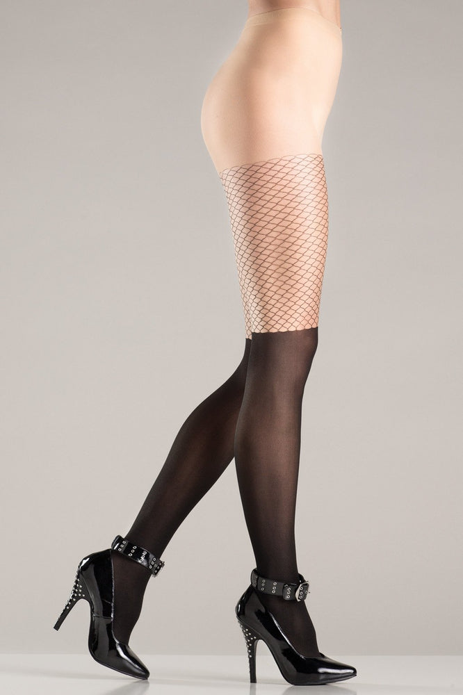 BW741 Two Tone Pantyhose