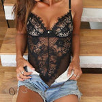 Sexy Lace Lingerie Bodysuit-lingerie-Gift Box Planet-Black-L-Gift Box Planet