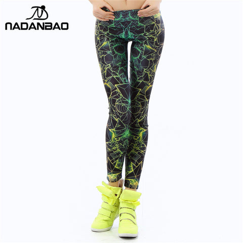 NADANBAO Fashion Women leggings  3D Printed