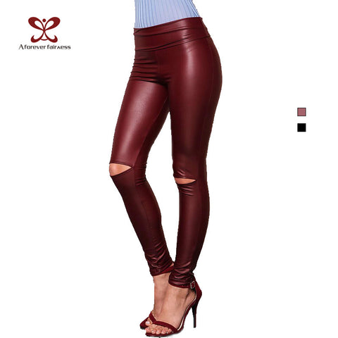 Womens LeggingsTrend Fashion Sexy Slim High Elasticity Long Pants High Waist
