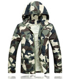 2018 Men Fashion Camouflage Jacket