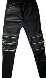 Faux Leather Sexy Punk Fitness leggins