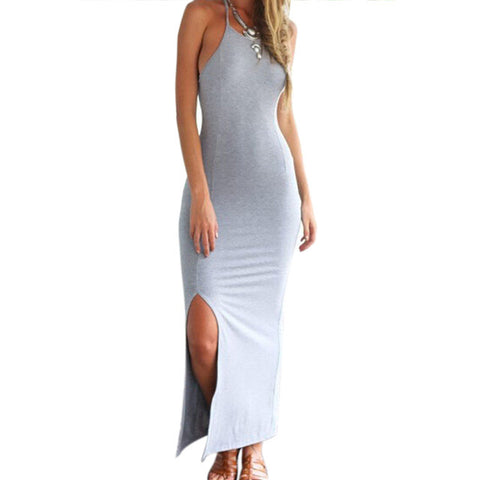 Summer Plus Size Chic Sexy Sleeveless Long Maxi Party Dress