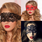 Sexy Hollow Lace  Erotic Mask - Cosplay Party Mask