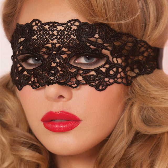 Sexy Hollow Lace Erotic Mask - Cosplay Party Mask-lingerie-Gift Box Planet
