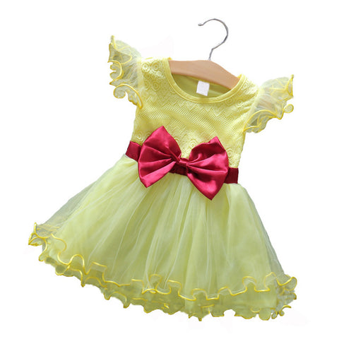 Princess Baby Girl 5 Color Dresses