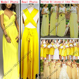 women 11 color 2016 sexy maxi dress red bandage long dress sexy Multiway Bridesmaids Convertible Dress robe longue femme