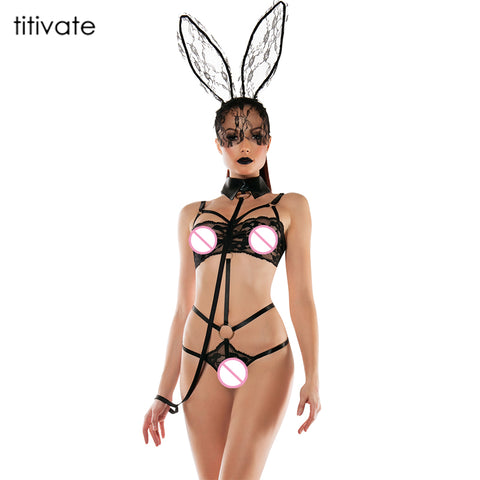 Sexy Bunny Lace Costume - Cosplay Sexy Underwear