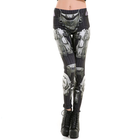 Harajuku black milk push up fitness sexy 3d print leggings