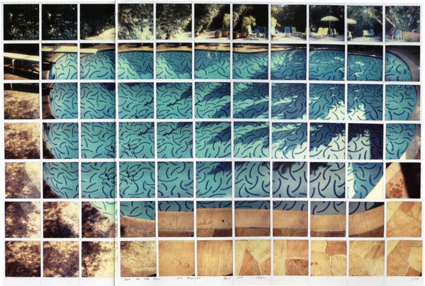 David Hockney 1982 Sun on the Pool, Los Angeles