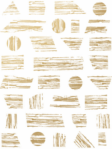 Goldendale - Gold on White - Sample