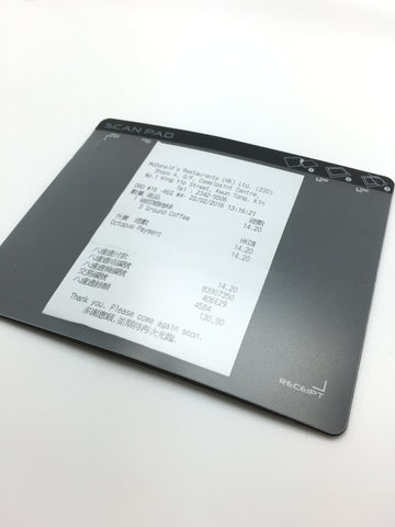 A6 Zcan Pad A Great Tool For Scanning Receipts Scanner Mouse