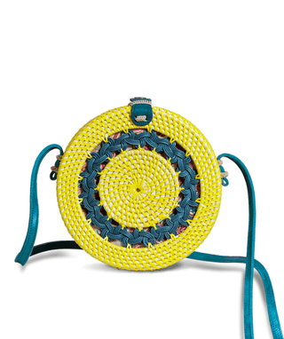 Rattan Handbag (Medium) - Isabela