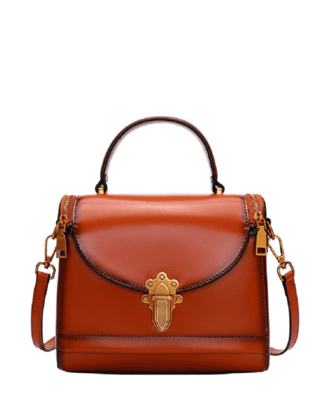 Leather Crossbody Bag - Effy