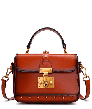 Leather Crossbody Bag - Reese