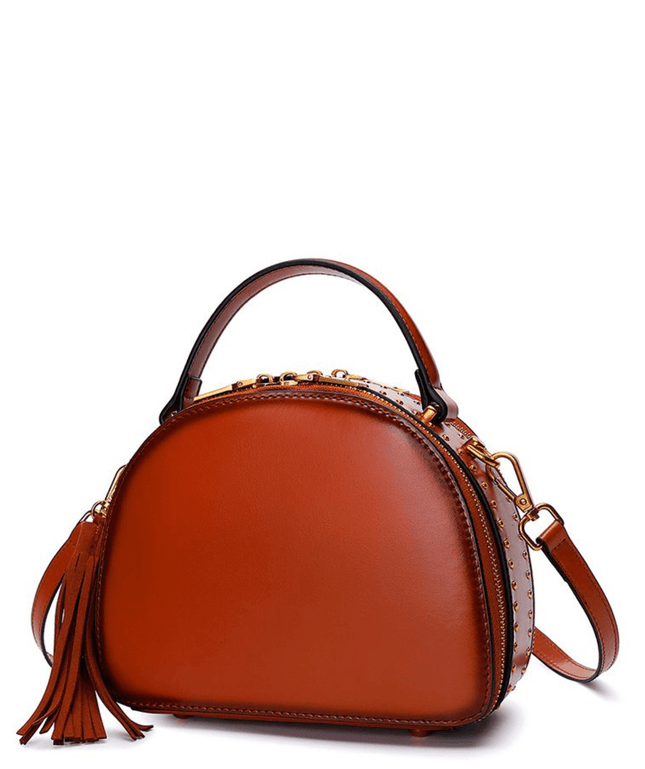 Leather Crossbody Bag - Keiko