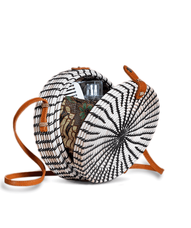 Rattan Bag (Medium) - Bray
